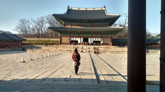 Changdeokgung Main Walk